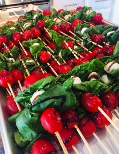 Bruschetta on a Stick